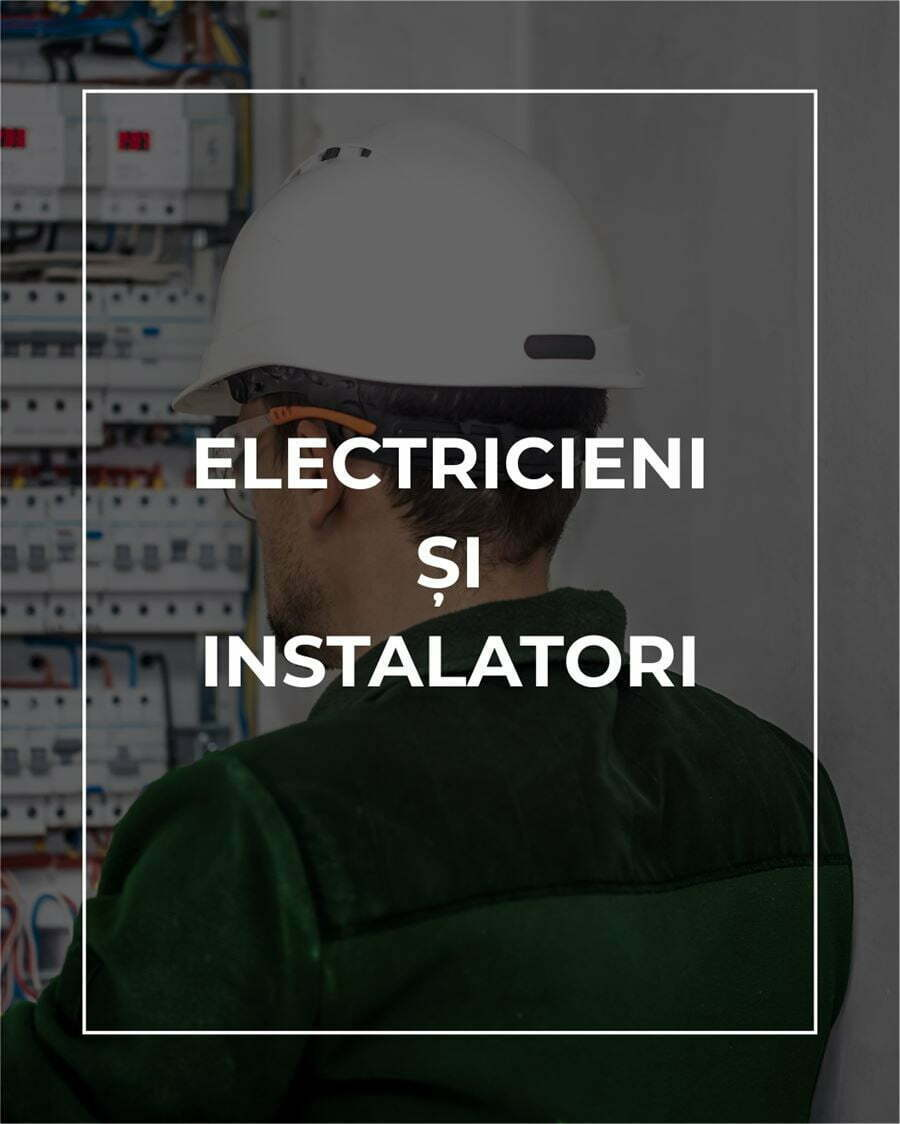 electrcian si instalator