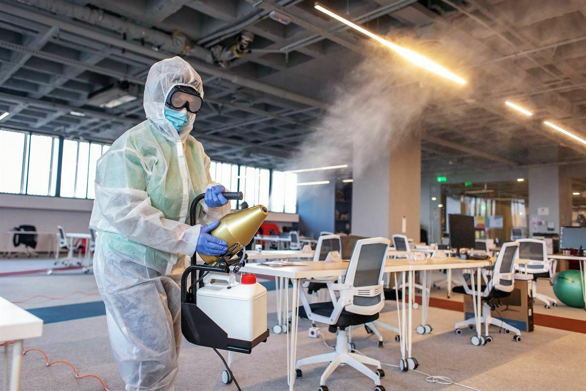 dezinFectie nebulizare birouri