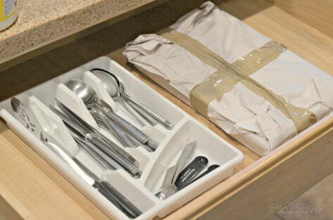 wrap-your-silverware-trays-in-paper-and-tape-or-plastic-wrap